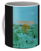 Sunrise With Gulls Coffee Mug