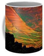 Sunset Above City After A Thunder-storm Coffee Mug