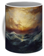 Sunset After A Storm Coffee Mug by Thomas Moran
