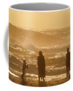 Sunset Along The Ocean East Of The City Coffee Mug