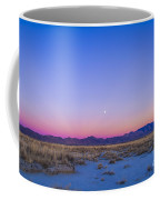 Sunset And Gibbous Moon Coffee Mug