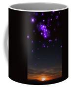 Sunset And Stars Coffee Mug