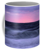 Sunset And Storm Surf On The Gulf Coffee Mug