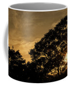 Sunset And Trees - San Salvador Coffee Mug