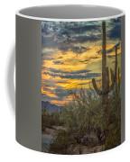 Sunset Approaches - Arizona Sonoran Desert Coffee Mug
