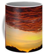 Sunset Art Prints Canvas Orange Clouds Twilight Sky Baslee Troutman Coffee Mug