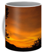 Sunset Art Prints Orange Glowing Western Sunset Baslee Troutman Coffee Mug