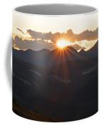 Sunset At 12.000 Feet Coffee Mug