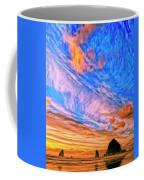 Sunset At Cannon Beach Coffee Mug