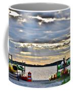 Sunset At Coastal Kayak Coffee Mug