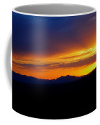Sunset At Coronado National Memorial Coffee Mug