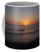 Sunset At Eljio Beach California Coffee Mug