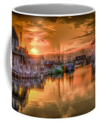 Sunset At Fisherman's Cove Coffee Mug