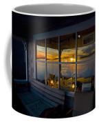 Sunset At Fletchers Camp Coffee Mug by Charles Harden