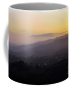 Sunset At Griffeth Observatory Coffee Mug