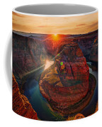 Sunset At Horseshoe Bend Coffee Mug