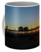 Sunset At Huntington Beach Coffee Mug