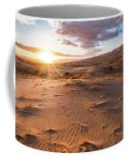 Sunset At Kelso Dunes Coffee Mug