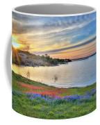 Sunset At Lake Buchanan Coffee Mug