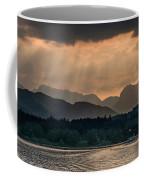 Sunset At Lake District Coffee Mug