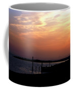 Sunset At Lordship Beach Coffee Mug