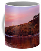 Sunset At North Head Lighthouse Coffee Mug