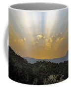 Sunset At Pastelero Near Villanueva De La Concepcion Andalucia Spain Coffee Mug