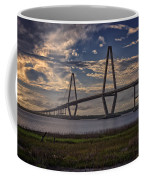 Sunset At Ravenel Bridge Coffee Mug