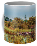 Sunset At River In Old Dutch Village Coffee Mug