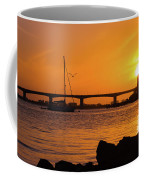 Sunset At Sarasota Bayfront Park Coffee Mug