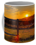 Sunset At Scartaglen Ireland Coffee Mug