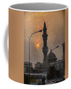 Sunset At Seeb Coffee Mug