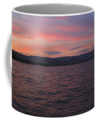 Sunset At Squam Lake New Hampshire Coffee Mug