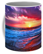Sunset At Strands Beach Coffee Mug