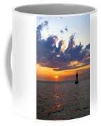Sunset At The Bell Buoy Coffee Mug