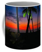 Sunset At The Big Island Of Hawaii Coffee Mug