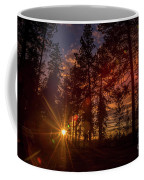 Sunset At The End Of The Hike Coffee Mug