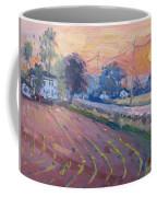 Sunset At The Farm Coffee Mug