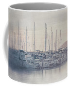 Sunset At The Marina Coffee Mug
