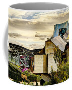 sunset at the marques de riscal Hotel - frank gehry Coffee Mug