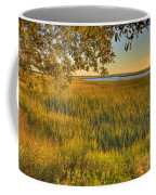 Sunset At The Marsh Coffee Mug
