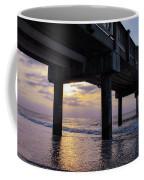 Sunset At The Pier Coffee Mug