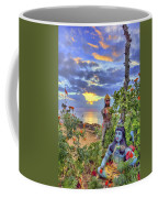 Sunset At The Temple Coffee Mug