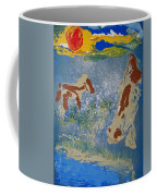Sunset At The Watering Hole Coffee Mug