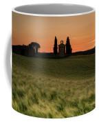 Sunset At Vitaleta Coffee Mug