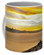 Sunset Bay Coffee Mug by Kelley King