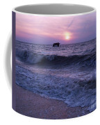 Sunset Beach Nj And Ship Coffee Mug