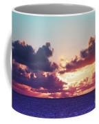 Sunset Behind Clouds Coffee Mug