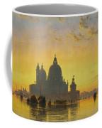 Sunset Behind The Church Of Santa Maria Della Salute Coffee Mug