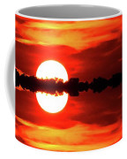 Sunset Behind The Trees At Kempenfelt Bay Two  Coffee Mug